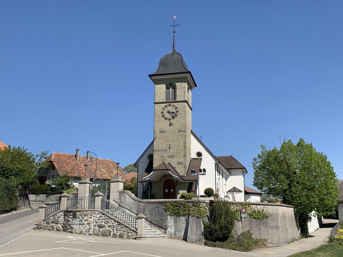 Unité pastorale Sainte-Claire: Église de Praroman